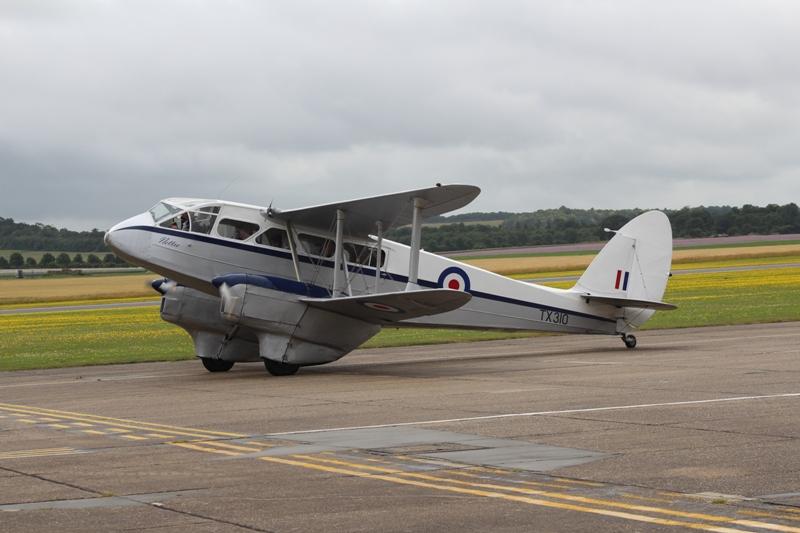 DH-89A Rapide TX310 voor een rondvlucht (@P. Righart van Gelder)