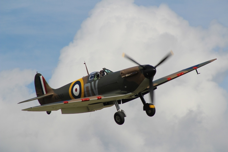 Spitfire Mk.V BM597 (@P. Righart van Gelder)